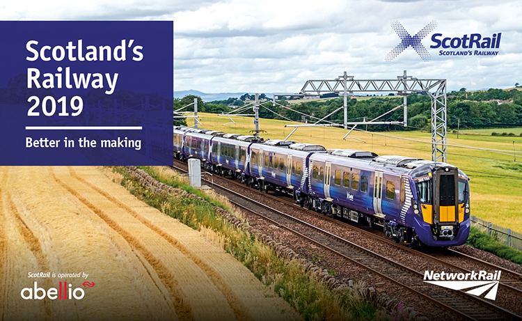 ScotRail 2019 Sustainability Report cover image