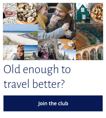 Old enough to travel? Click here to join the club.
