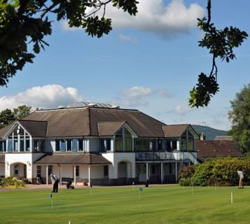 Crieff Golf Course clubhouse