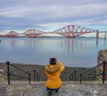 Photographing the Forth Bridge
