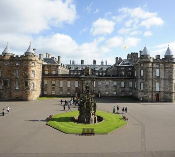 Palace of Holyroodhouse exterior