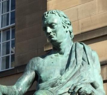 Royal Mile David Hume