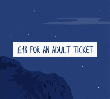 £18 for an adult ticket