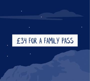 £34 for a family pass