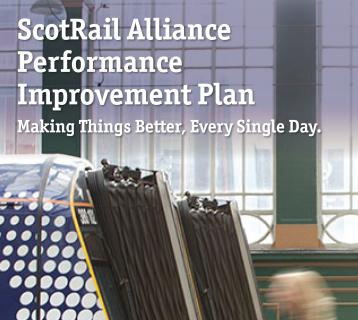 ScotRail Alliance performance improvement plan cover