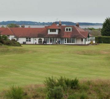 Scotscraig Golf Club and clubhouse