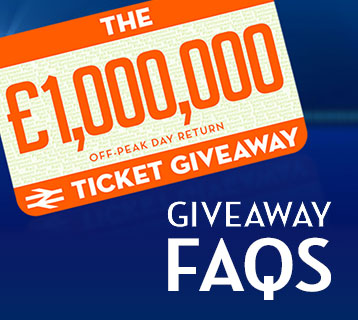 The £1,000,000 ticket giveaway FAQs