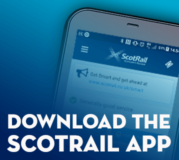 Download the free ScotRail app
