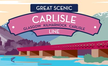 Great Scenic Rail Journeys Carlisle Line illustration