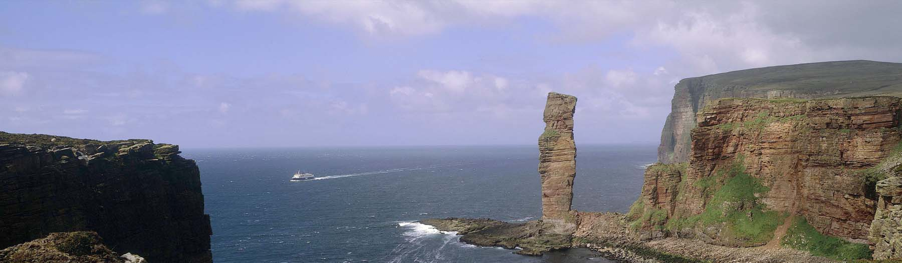 Image: Old Man of Hoy. Credit: Image used with permission from VisitScotland and Scottish Viewpoint.