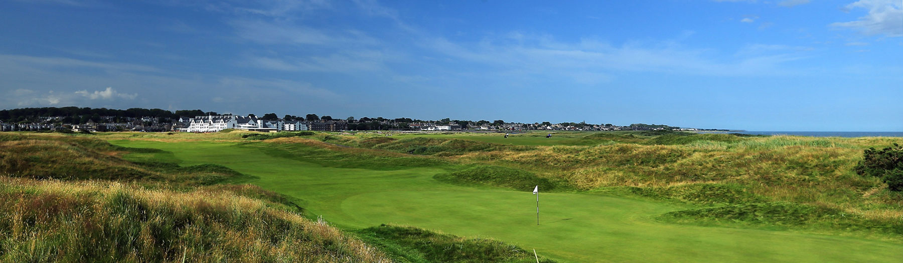 View of Carnoustie Golf Links