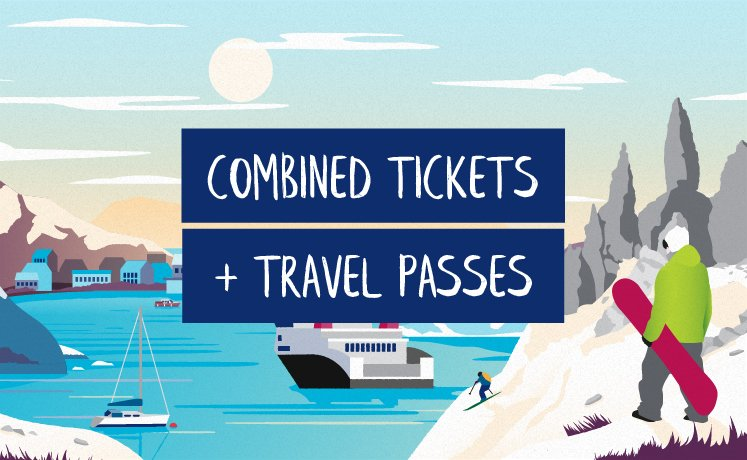 Combined tickets and travel passes