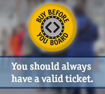 Buy before you board - you should always have a valid ticket