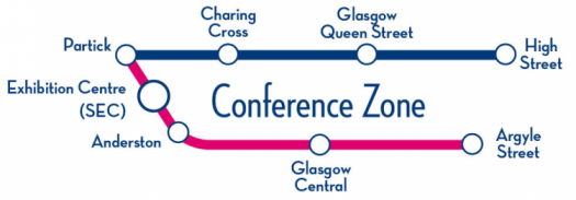 Conference Rover conference zone map