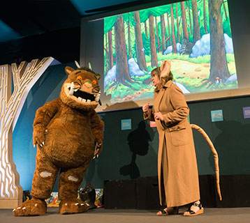 Gruffalo with Julia Donaldson