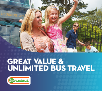 Great value and unlimited bus travel from PLUSBUS