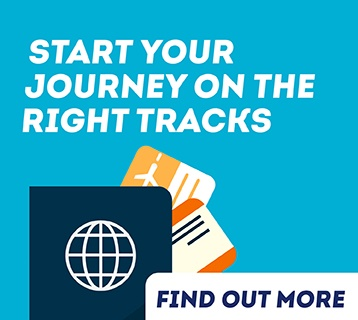 Start your journey on the right tracks