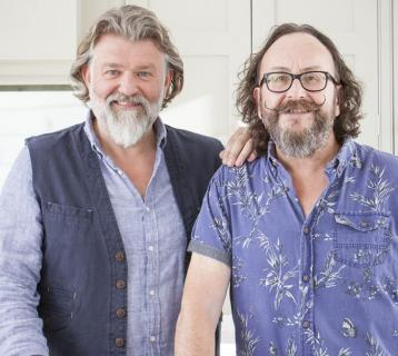An evening with Hairy Bikers