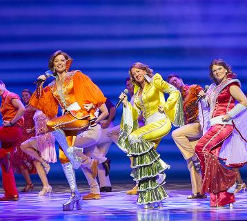 Mamma Mia at Edinburgh Playhouse