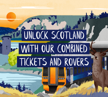 Unlock Scotland with our combined tickets and rovers