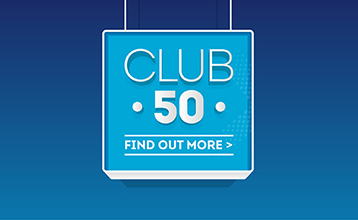 Club 50 - find out more