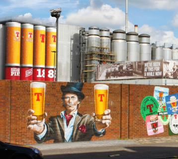 Tennent's Brewery exterior