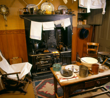 The Tenement House interior