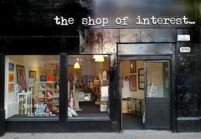 The Shop of Interest exterior