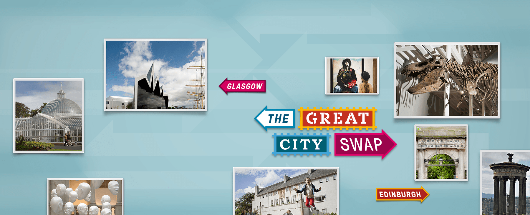 The Great City Swap - Glasgow - Edinburgh