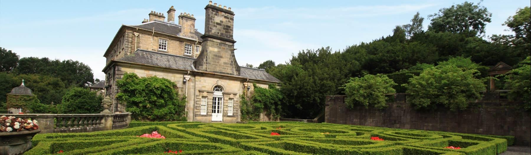 Country house and garden
