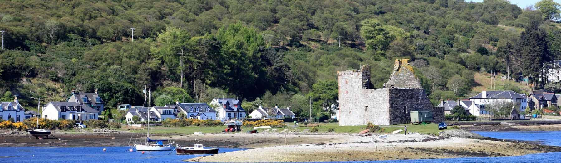 Image: Lochranza Castle. Credit: Image used with permission from VisitScotland and Scottish Viewpoint.