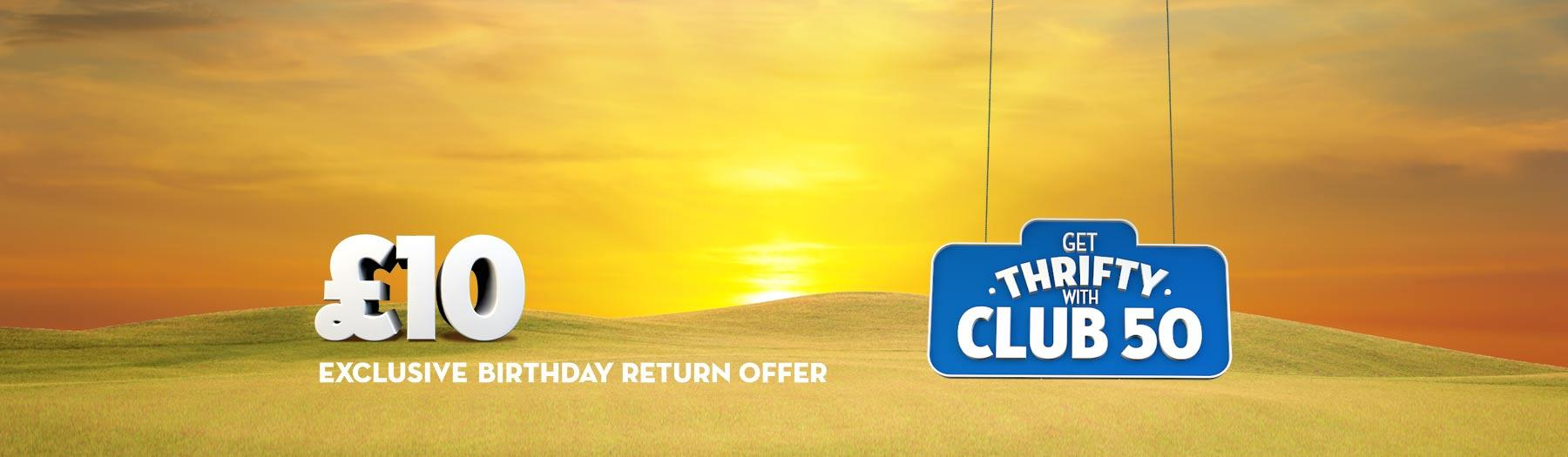 Travel throughout Scotland for £10 return with Club 50