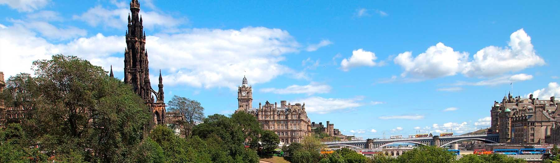 Image: Princes Street Gardens. Credit: Image republished with kind permission of VisitScotland.