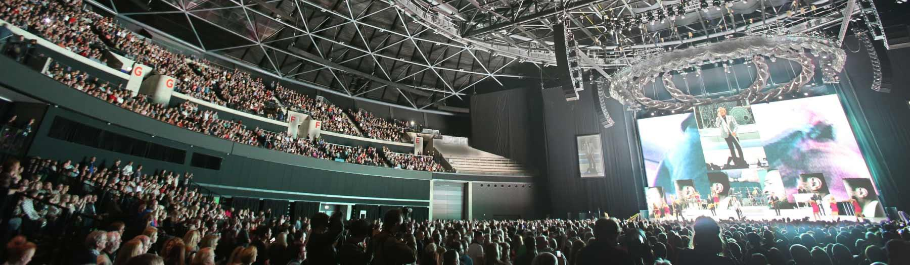 Image: Interior, SSE Hydro. Credit: The SSE Hydro.
