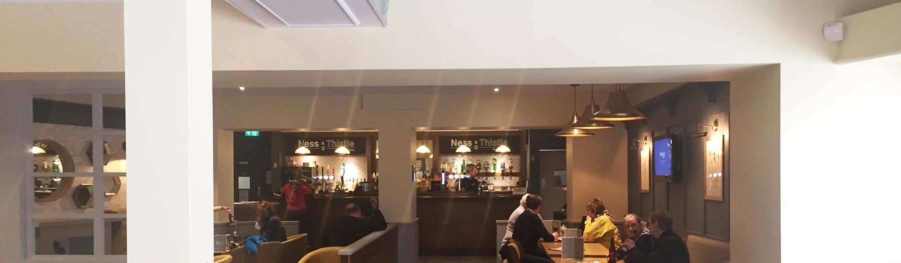 Ness & Thistle bar at Inverness station