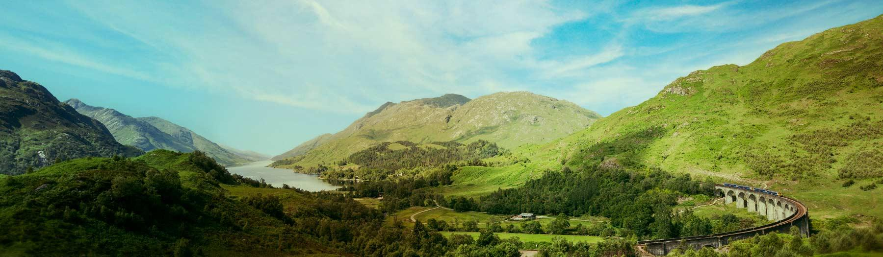 Image: Loch Shiel and the Glenfinnan Viaduct. Credit: Image © Paul Childs.