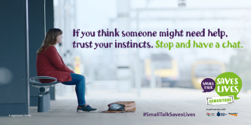 Small Talk Saves Lives card