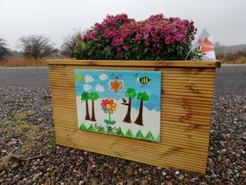 Leuchars station adopters artwork