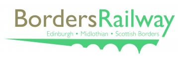 Borders Railway logo colour