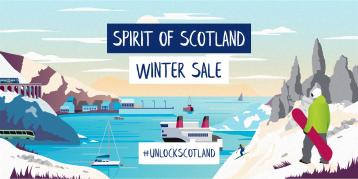 Spirit of Scotland winter sale