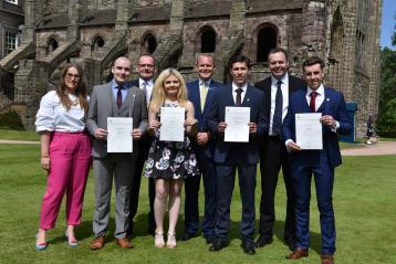 Modern apprentices at the Palace of Holyroodhouse