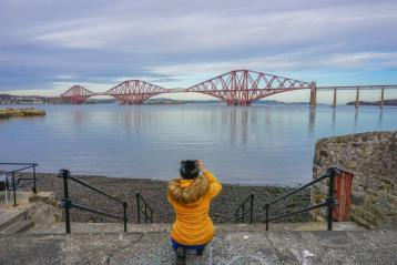 Two Scots Abroad blog Forth Bridge