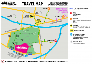<p>Map of Bellahouston Park for Summer Sessions 2016</p>