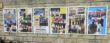Posters at Larkhall