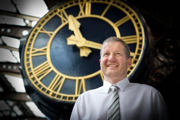 <p>Phil Verster, Managing Director for the planned ScotRail and Network Rail Alliance in Scotland</p>