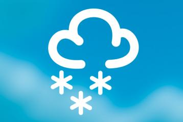 Disruption: snow icon
