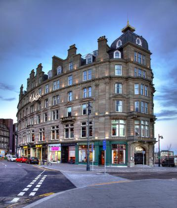Exterior view of Malmaison Dundee