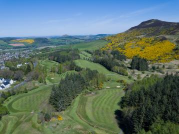 Aerial view of Melrose Golf Course