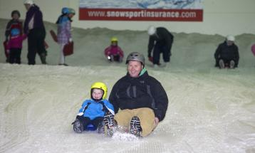Sledging at Snow Factor
