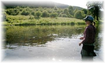Tweed Guide fly fishing